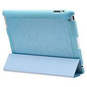 奇克摩克 魅彩系列 苹果iPad2/new iPad3/iPad4保护壳/保护套 iPad3保护套 iPad4保护套 蓝色