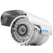 乔安(JOOAN) 510MRB 600线 6mm 高清夜视监控摄像头 室外枪形摄像机 彩转黑 银色(50米内)