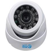 乔安(JOOAN) 570YRB-T 480线 6mm白色 传统红外监控摄像头 室内海螺半球摄像机 彩转黑(20米内)