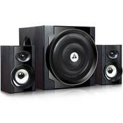 金河田 多媒体台式S300尊享版 (2.1有源、木质、超重低音、高保真、家庭影院)