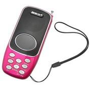 智能达 ZD-460迷你插卡音箱FM收音机
