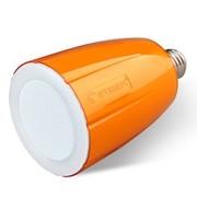 etiger AO创意灯泡无线遥控调光多媒体节能吊灯音箱 LED灯蓝牙音响 橙色