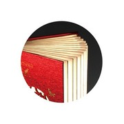 风彩 春意  LED创意文化书灯  可定制化书灯