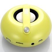 斯必达 冰壶(Curling)音箱 蓝牙音箱 无线音箱 灵动黄