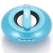 斯必达 冰壶(Curling)音箱 蓝牙音箱 无线音箱 宝石蓝