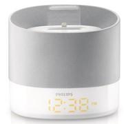 飞利浦 DS1400 迷你音响 苹果音响iphone6/5Sipod可充电闹钟时钟音箱卧室床头音响(白色)