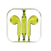古尚古 手机耳机入耳式线控魔音面条线 适用于华为荣耀6/小米4/3/魅族mx3/苹果 苹果绿
