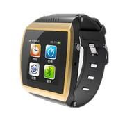 喜越 M7新款智能手环手表 穿戴式蓝牙手表手机 适用于三星/苹果手机 金色