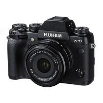 富士 X-T1 单电套机 黑色(XF 18mm F2 R镜头)产品图片主图