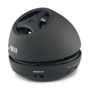 魅动e族 MD-9110 1015迷你音箱插卡电脑音响 读取TF卡MP3式插耳机音响带锂电 黑色