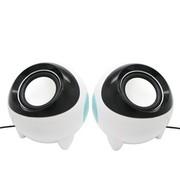 沐阳 MY501S 3D立体声 USB电脑笔记本2.0音箱 白色