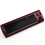 不见不散 LV520-III三代 便携插卡小音箱 迷你收音机 音响MP3播放器低音炮 玫瑰红