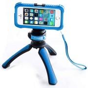 富图宝 MS-7 iPhone5拍照套装 iPhone5S手机套保护套 自拍神器 蓝色