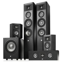 JBL STUDIO 2系列 5.1豪华家庭影院套装 (主音箱290BK) 黑色产品图片主图