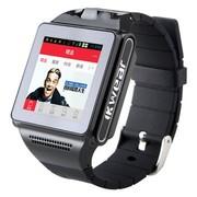 喜越 iko8 安卓双核智能手表手机 穿戴式智能手机适用移动联通SIM卡 黑色