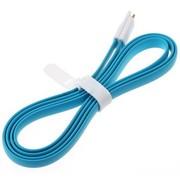 奔肯 奔肯 磁铁短线数据线USB彩色充电器 适用于三星/小米/红米/HTC/魅族/华为数据线 天蓝色1米