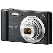索尼 DSC-W800 数码相机 黑色(2010万像素 5倍光学变焦 2.7英寸屏 26mm广角)