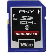 PNY 16G SDHC 高速存储卡(CLASS10)