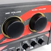 雅桥 家用专业卡拉OK套装KTV卡包音响唱歌功放机家庭影院音箱