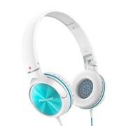 先锋 SE-MJ522-G 头戴式便携折叠时尚出街耳机 蓝绿色