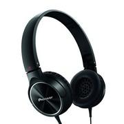 先锋 SE-MJ522-K 头戴式便携折叠时尚出街耳机 黑色