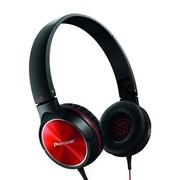 先锋 SE-MJ522-R 头戴式便携折叠时尚出街耳机 红色