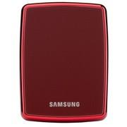 三星 高端时尚款 S3系列 2.5英寸超高速USB3.0移动硬盘(红色)1TB ( CV-HXMTD10E2C4)