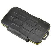 JJC MC-SD6CF3  防水防尘防震 存储卡盒 闪存卡收纳盒 (可放6张SD卡, 3张CF卡)