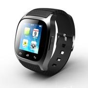 喜越 M26 新款多功能智能手环手表 穿戴式蓝牙手表 手机伴侣媲美小米手环 通话 反恐黑
