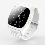 喜越 M26 新款多功能智能手环手表 穿戴式蓝牙手表 手机伴侣媲美小米手环 通话 优雅白