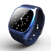 喜越 M26 新款多功能智能手环手表 穿戴式蓝牙手表 手机伴侣媲美小米手环 通话 经典蓝