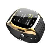 喜越 M26 新款多功能智能手环手表 穿戴式蓝牙手表 手机伴侣媲美小米手环 通话 香槟金