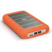 LaCie Rugged Triple探路者系列 2.5英寸USB3.0多接口移动硬盘1TB(301984)