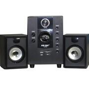 金正 先科(SAST)SA-3008 2.1声道多媒体有源音箱 USB组合音响 插卡音箱 低音炮