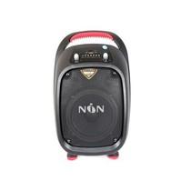 金正 N6202电瓶户外音响6.5寸手提式广场舞蓝牙移动录音插卡U盘早教音箱产品图片主图