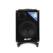 金正 先科(SAST)Q-8B 8寸大功率电瓶音箱拉杆轮滑音箱户外音箱带无线话筒专业音箱