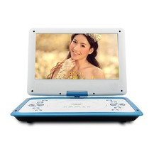 金正 移动电视DVD-12 14英寸全格式便携式EVD影碟机支持3D模式USB接口游戏功能蓝产品图片主图