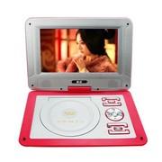 金正 移动电视DVD 902 12英寸高清便携式影碟机EVD播放机器带电视3D模式(红色)