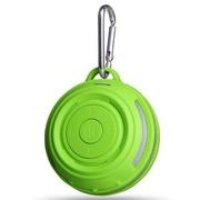 爱派 迷你3.0蓝牙音箱 无线音箱 车载音箱 便携式户外旅行音箱 免提电话 带挂扣 草绿色