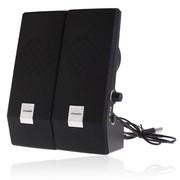 杰科瑞 JS-120 银色 2.0经典全网面仰角设计 完美高音笔记本音箱 电脑音箱 多媒体音响