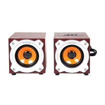 先科 N36时尚2.0全木质HI-FI桌面多媒体音响专业音箱产品图片主图