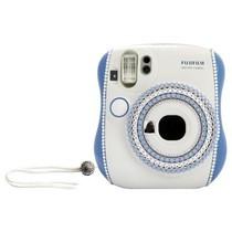 富士 instax 趣奇Checky一次成像相机 mini25施华洛世奇水晶礼盒套装(蔚蓝海岸)产品图片主图