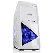 鑫谷 王者锋临中塔机箱 闪耀白(非对称美学设计/USB3.0/极速SSD/侧板加强/支持大板/背线)