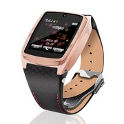 Hi-PEEL 智能手表Hi910G 休闲时尚智能运动穿戴式手环腕表手机可打电话设备 土豪金