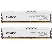 金士顿 骇客神条 Fury系列 DDR3 1866 16GB(8GBx2)台式机内存(HX318C10FWK2/16)白色