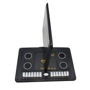 金正 移动DVD PD-1422 15英寸超薄VCD播放机便携式影碟机EVD带移动电视 黑色