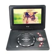 小霸王 高清移动电视DVD SB-635超薄3D旋转屏支持RMVB 12英寸黑色