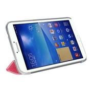 爱酷多 三星Tab3 T210 T211 P3200 智能保护套7英寸冰晶皮套 粉色