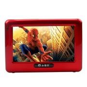小霸王 小霸移动可视播放器SB-602 4.3英寸屏唱戏机收音录音扩音老人唱戏机可插TF卡 红色+4G广场舞戏曲视频卡