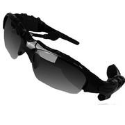 HNM 蓝牙太阳眼镜 智能眼镜  蓝牙眼镜  智能穿戴眼镜 时尚眼镜 迷你眼镜 手机眼镜 车眼镜 酷黑  套餐二